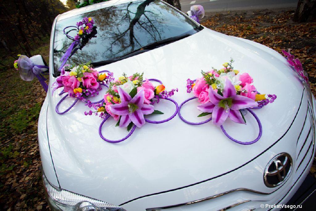 Украшение свадебный машин своими руками